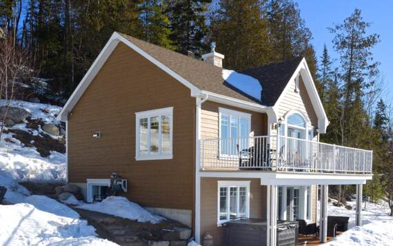 Cottage to rent front montains Lanaudiere